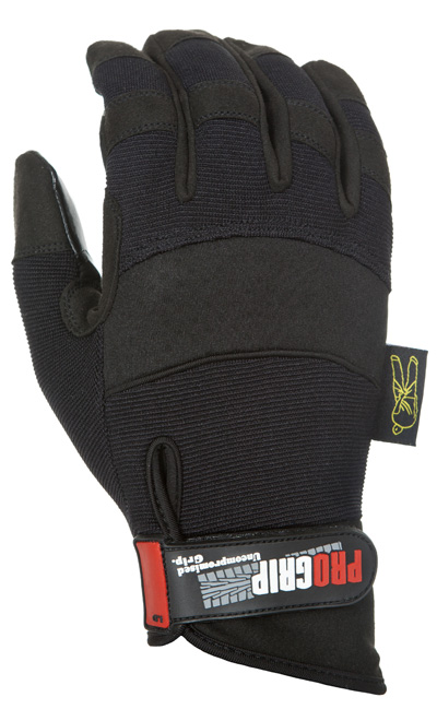 dirty rigger gloves for stagehands and production professionals